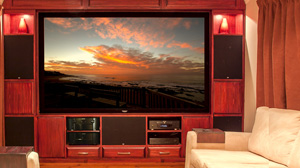 Experience our Home Cinema style installation