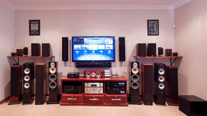 Experience a wider range of audio visual products in an exclusive Shop Environment