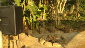 Experience our Outdoor Entertainment Sound System